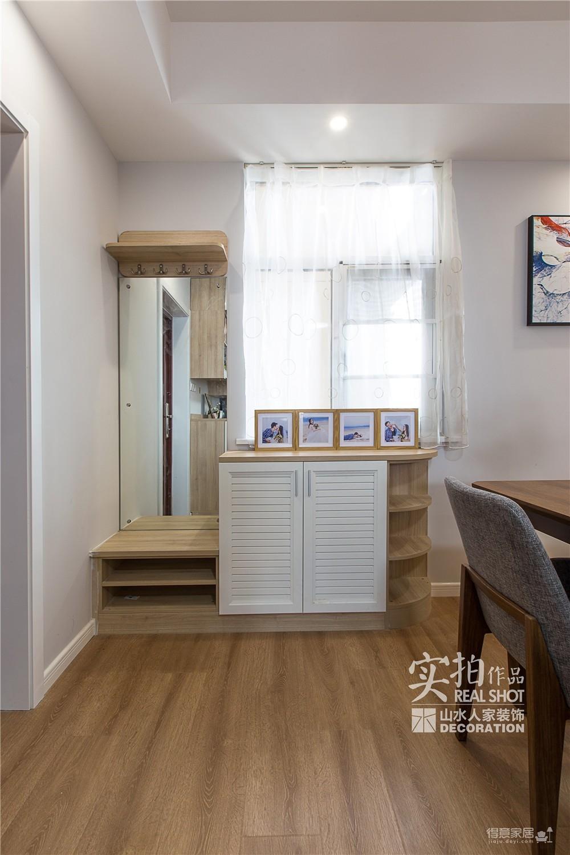 温馨现代104平三室两厅图_8