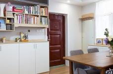 温馨现代104平三室两厅图_18