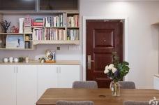 温馨现代104平三室两厅图_3