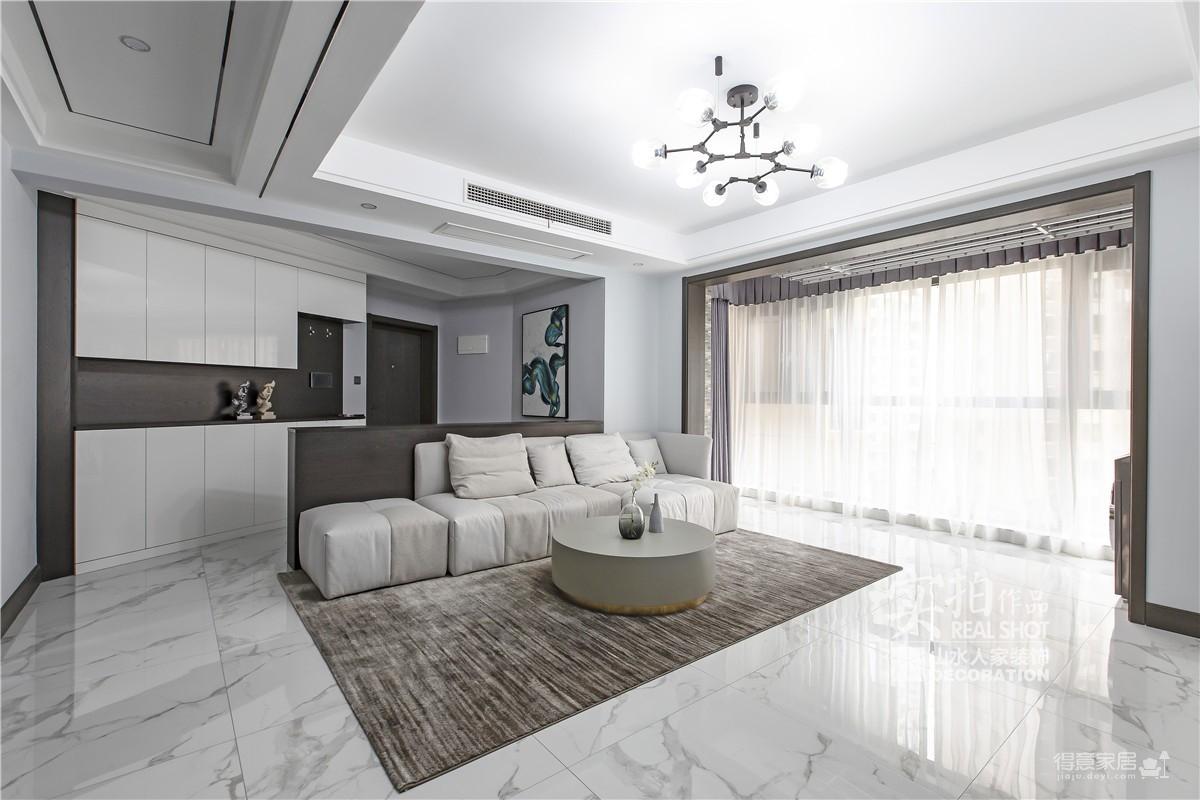 纽宾凯汉city133平三室两厅现代图_4