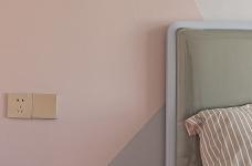 115平三房两厅两卫粉红轻奢图_2