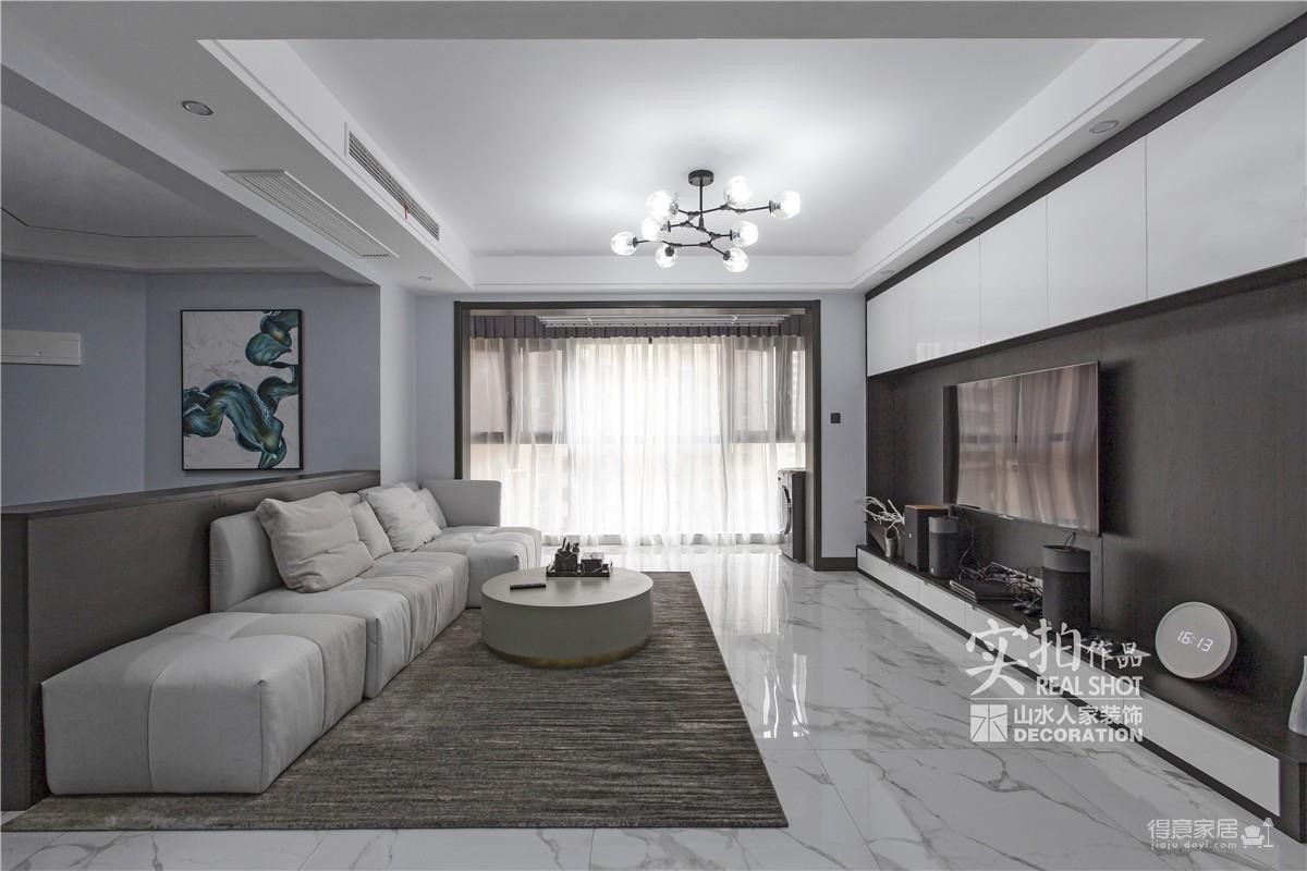 纽宾凯汉city133平三室两厅现代图_3