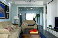 103平三室两厅美式风图_4