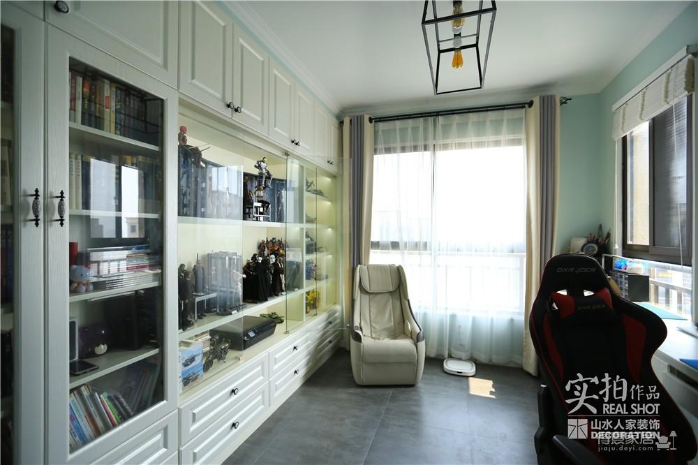 103平三室两厅美式风图_15