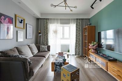 89平两室两厅森系北欧