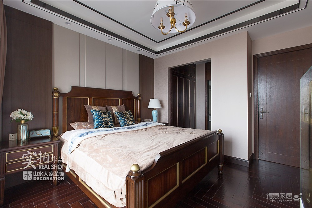 广电兰亭时代140平三室新中式图_13