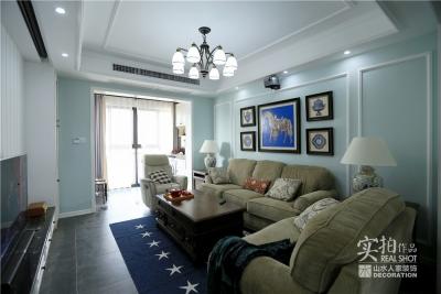 103平三室两厅美式风