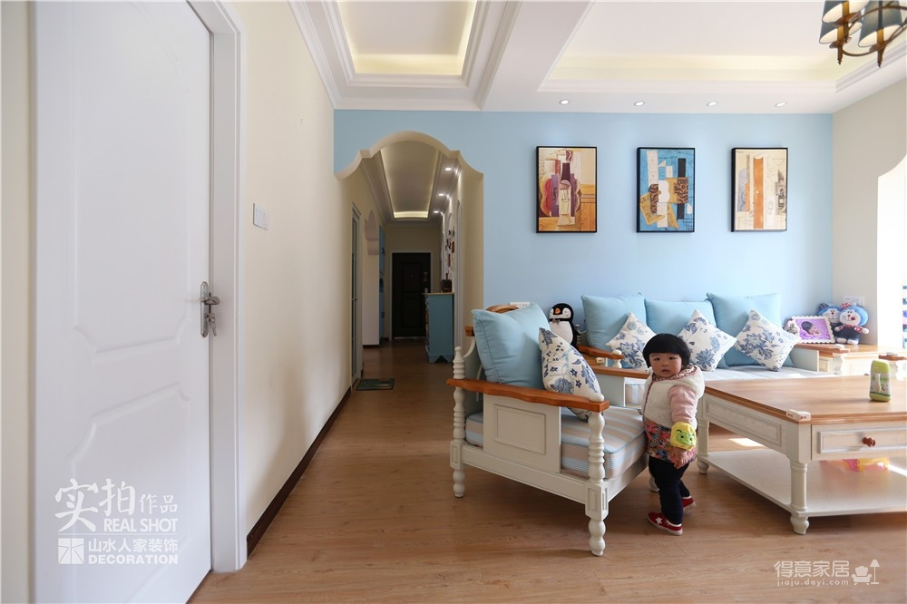 125平三室两厅地中海图_5