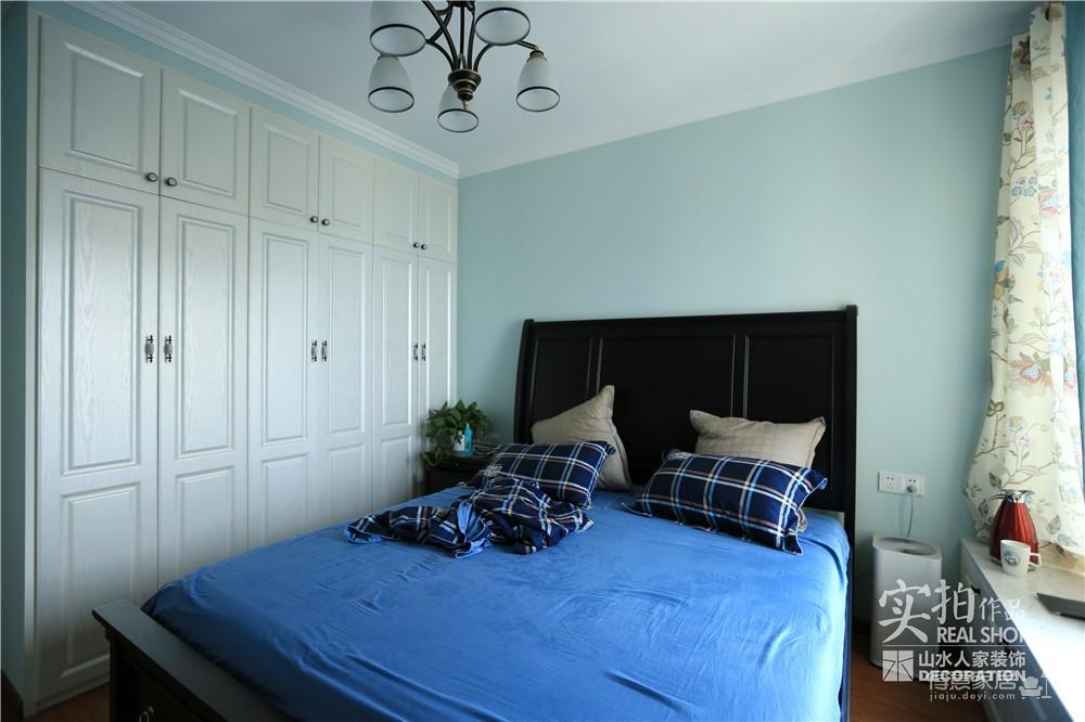103平三室两厅美式风图_10