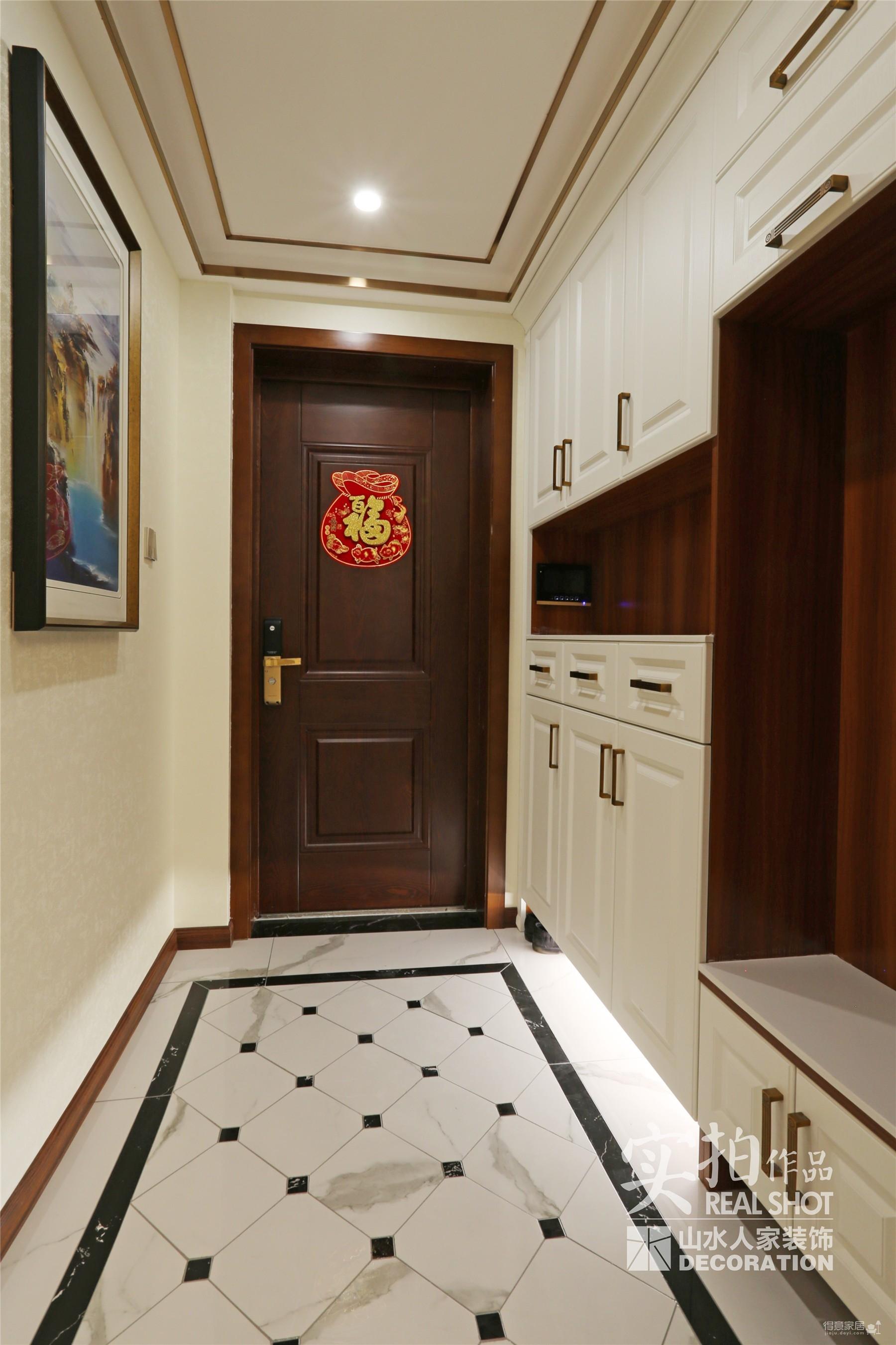 124平三室两厅现代中式图_5