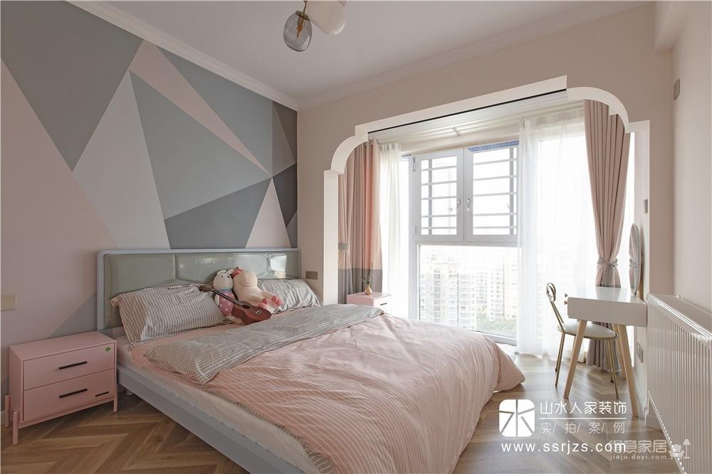 115平三房两厅两卫粉红轻奢图_22