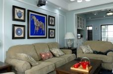 103平三室两厅美式风图_7