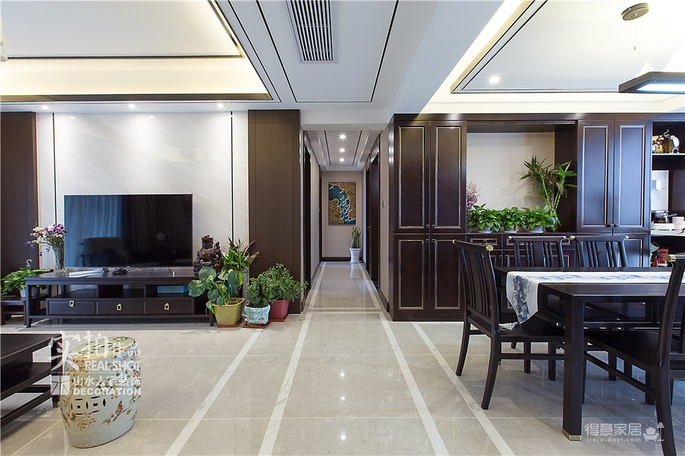 广电兰亭时代140平三室新中式图_3