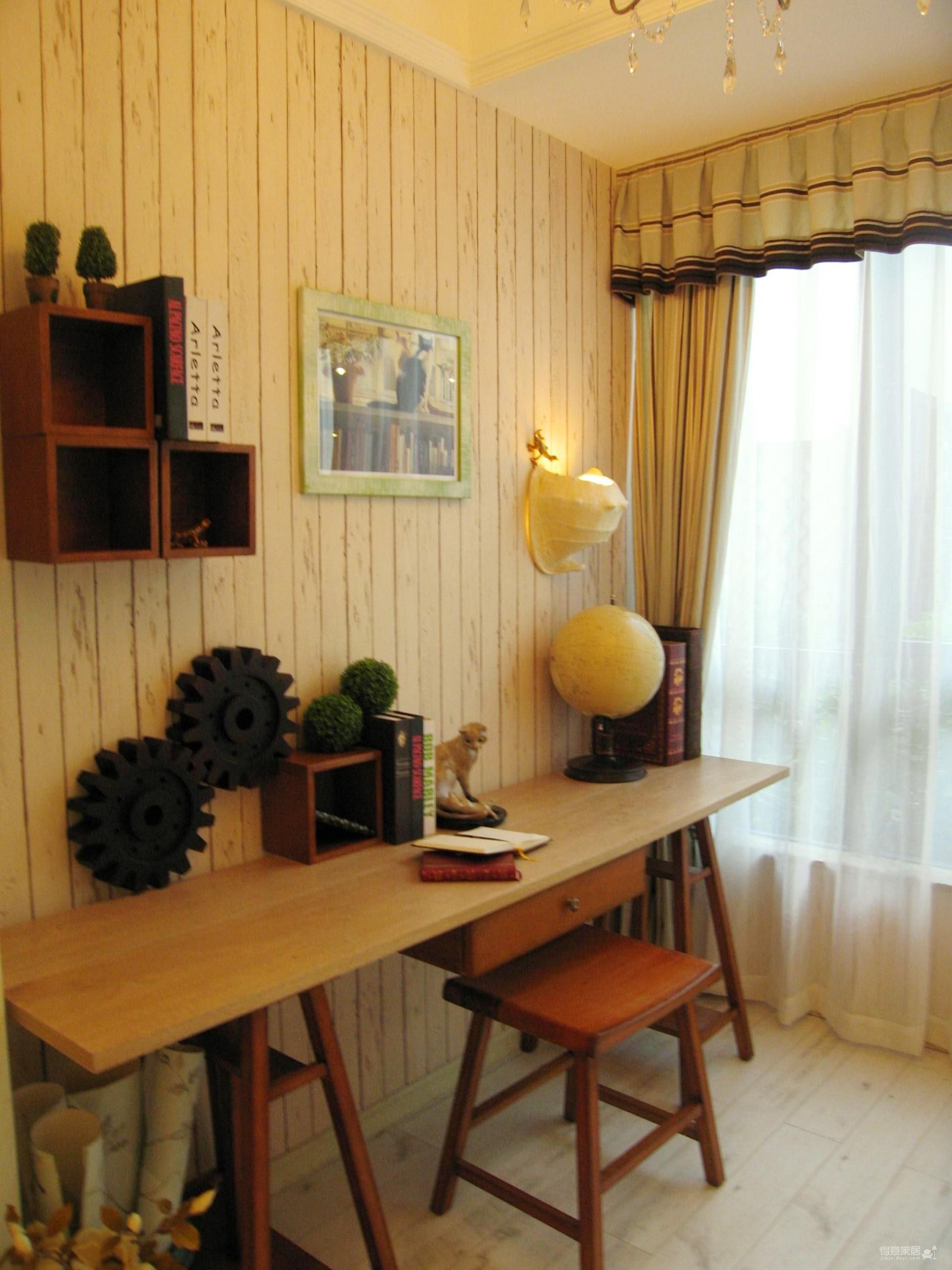清新田园风,儿童房是家里最美的风景线图_11