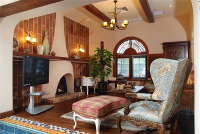 地中海风格精装别墅案例分享