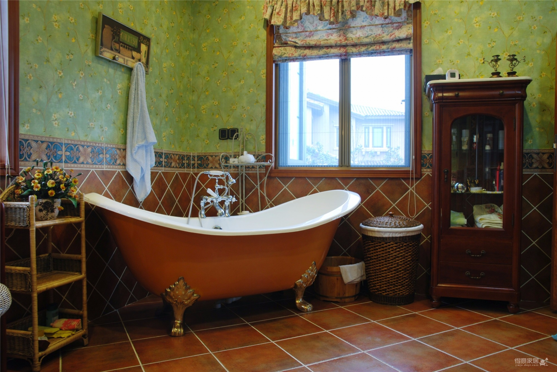 地中海风格精装别墅案例分享图_6