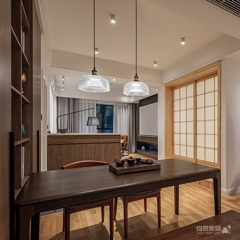 國際社區復古風80平米兩居室原創案例鑒賞