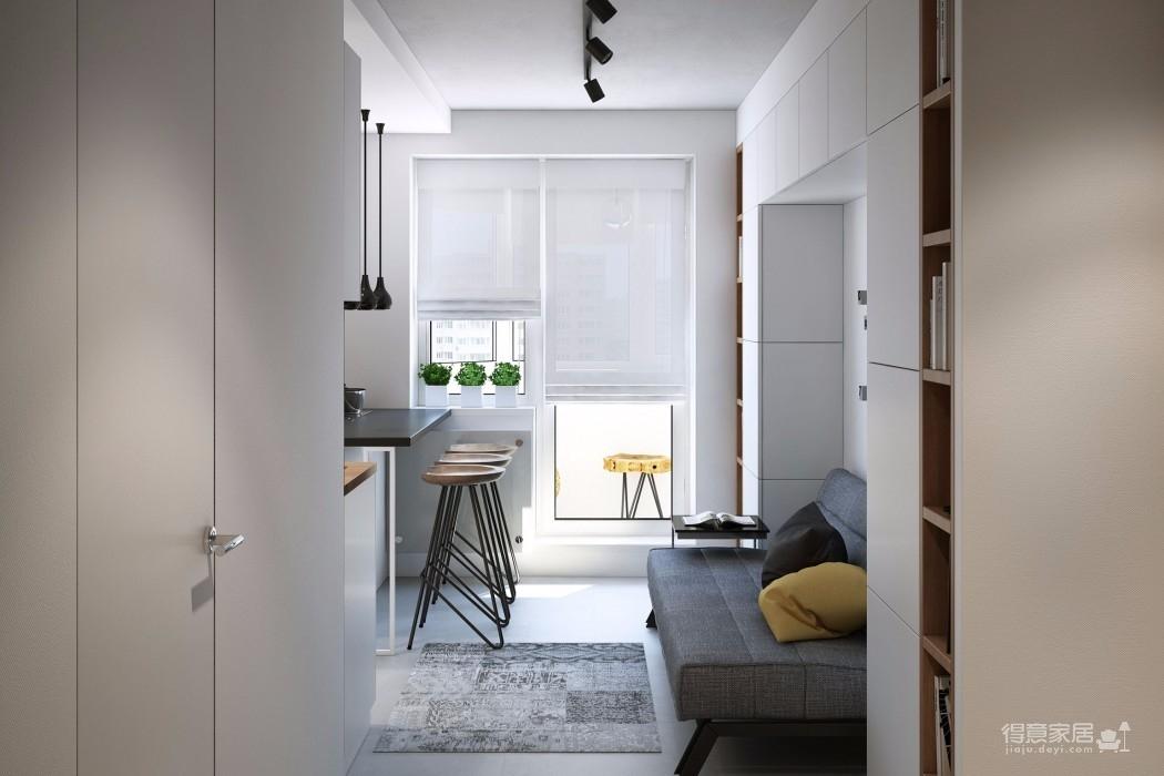 客厅面积再小,也能装出一番风景图_3