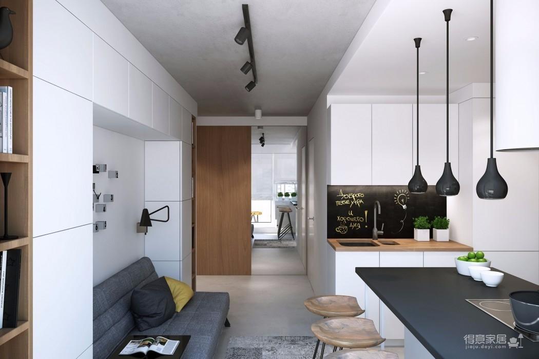 客厅面积再小,也能装出一番风景图_4