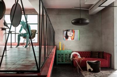 休闲工业风loft,酷酷的风格有人喜欢吗