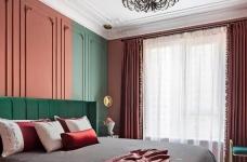 1+1>2 红绿CP喜形于色,精装房也能时髦高调图_18