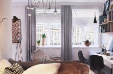 简单的一居室竟然可以这样设计?图_5