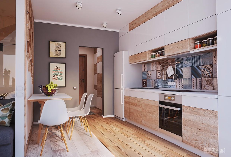 简单的一居室竟然可以这样设计?图_4
