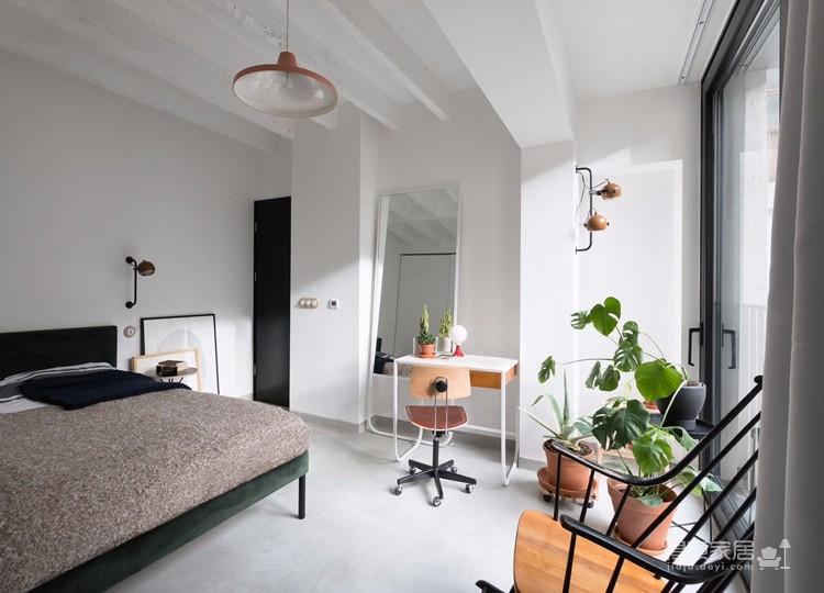 三室两厅装修案例 北欧风美家鉴赏图_5