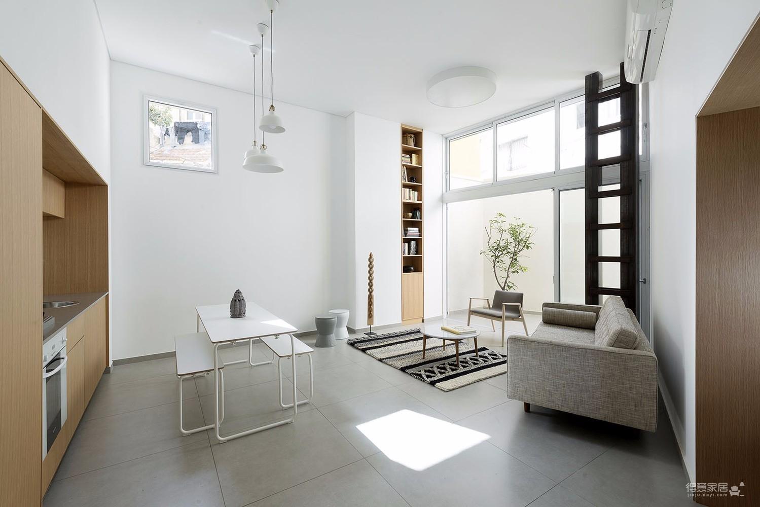 北欧loft小户型也能装出空间感