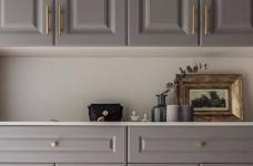 126平现代美式风装修,喜欢粉色和灰色搭配的家,温馨又有情趣图_2