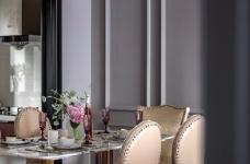 126平现代美式风装修,喜欢粉色和灰色搭配的家,温馨又有情趣图_7