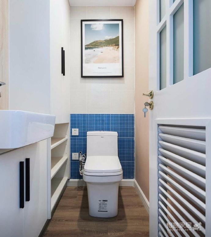 80平文艺北欧风装修,整屋风格风格偏简洁,暖灯,粉墙,再加上点绿意,超级温馨图_9