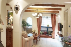 围观刷爆朋友圈的地中海风格新家!图_8