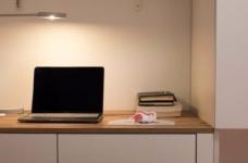 98平米北欧风格三居室,少女心满满的家图_8