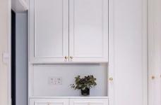 三居室现代轻美式,温馨优雅的质感图_3