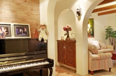 围观刷爆朋友圈的地中海风格新家!图_9
