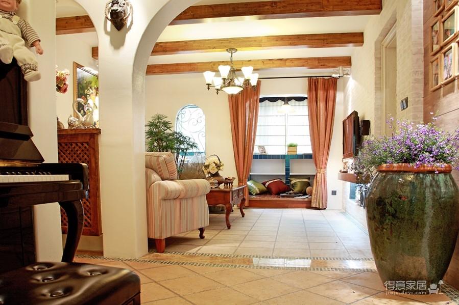 围观刷爆朋友圈的地中海风格新家!图_10