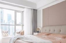 三居室现代轻美式,温馨优雅的质感图_7