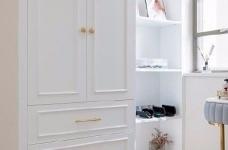 三居室现代轻美式,温馨优雅的质感图_6