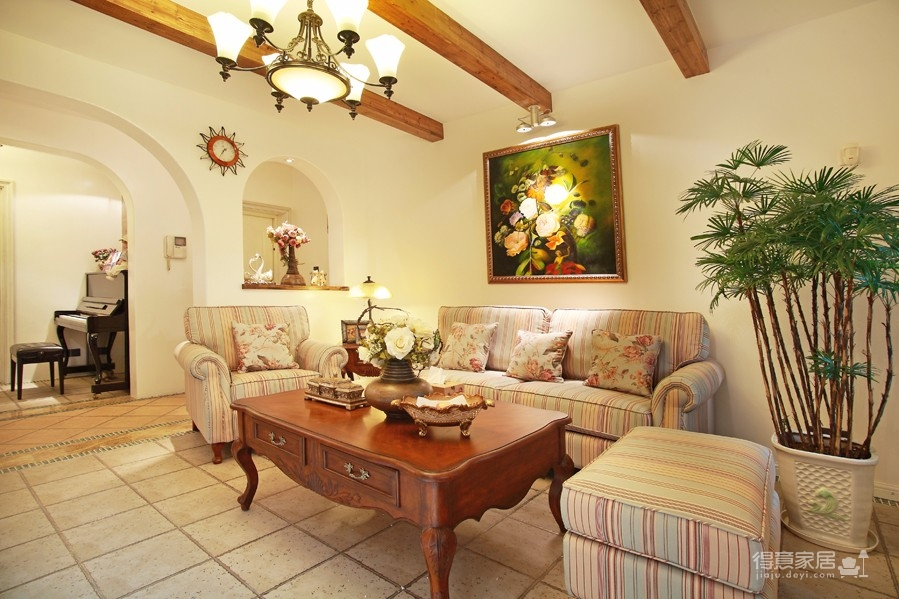 围观刷爆朋友圈的地中海风格新家!图_4