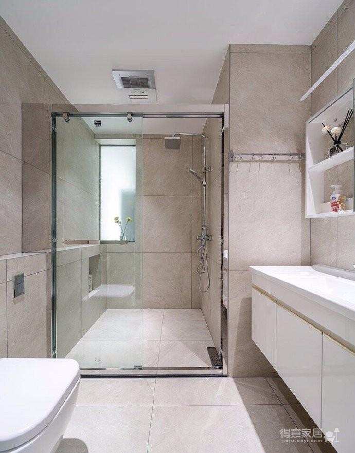三居室现代轻美式,温馨优雅的质感图_9