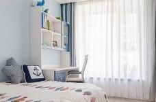 三居室现代轻美式,温馨优雅的质感图_5