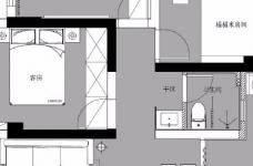 98平米北欧风格三居室,少女心满满的家图_2