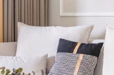三居室现代轻美式,温馨优雅的质感图_2