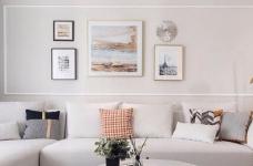 三居室现代轻美式,温馨优雅的质感图_1