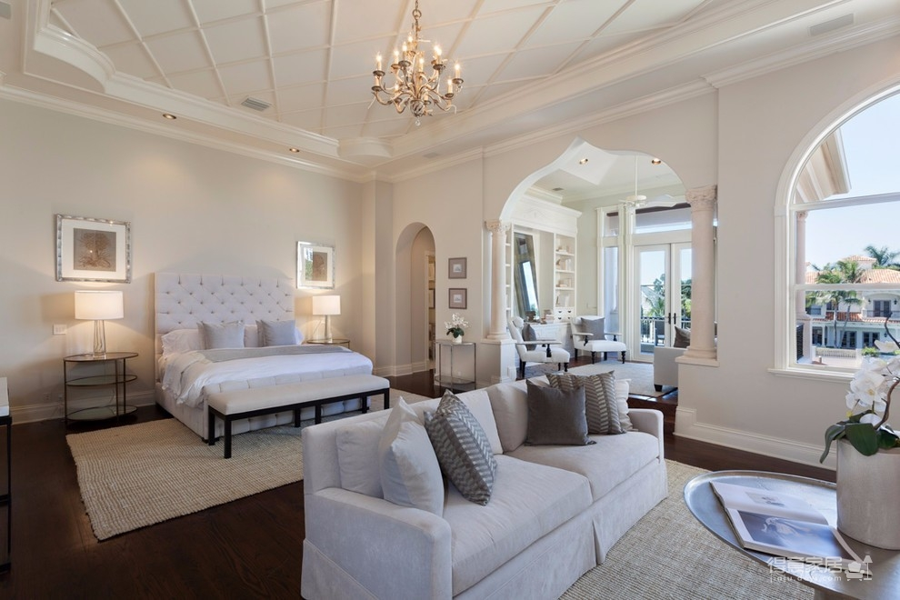 130平三室两厅两卫地中海风格图_1