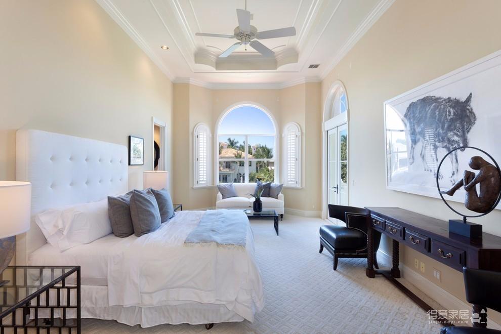 130平三室两厅两卫地中海风格