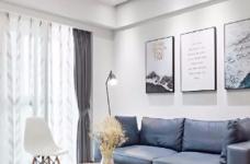 整体采用清新的色调,突出家的干净整洁,给人如沐春风的感觉图_2