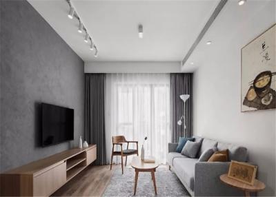 设计师使用大量的木元素贯穿整个空间,并在布局上最大化收纳,把生活的琐碎给隐藏起来。