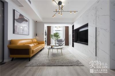 健龙尚谷杰座现代120平三室两厅